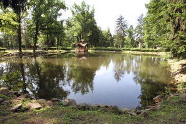 Vo väčšom jazierku bude pokračovať komerčný rybolov, do menšieho nasadí správca parku okrasné druhy rýb.