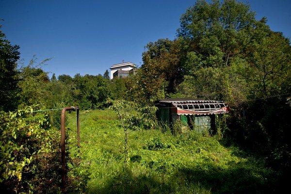 Historická Prűger-Wallnerovej záhrada je v súčasnosti prístupná, ale zväčša neupravená.