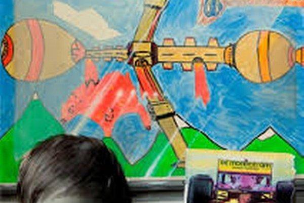 Veronika Rónaiová. Patrik, interpretácia synovej kresby.