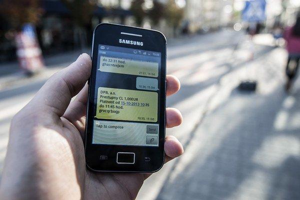 SMS pošlite dve minúty vopred.