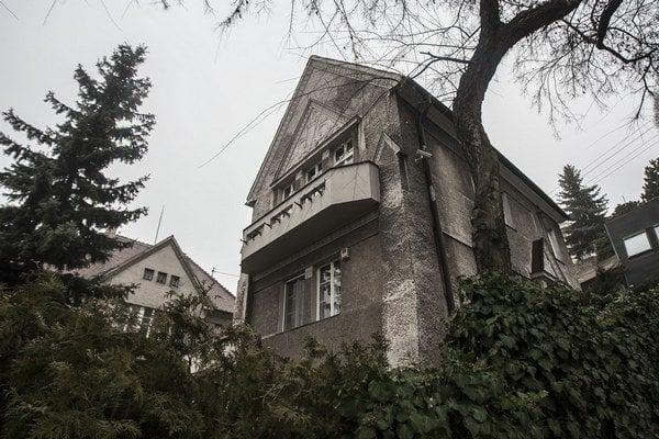 Jurkovičova vila na Lermontovovej ulici.