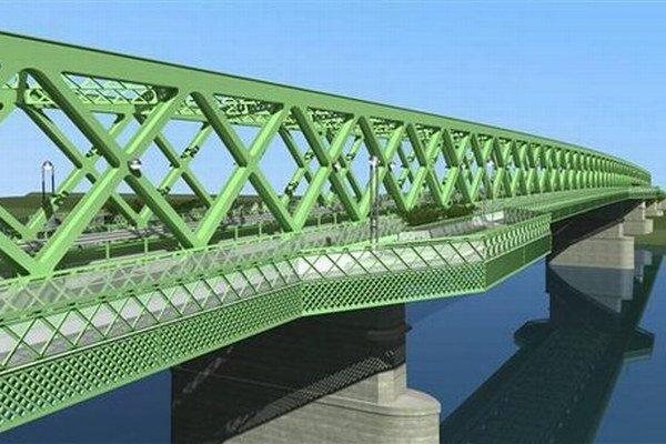 Most zatiaľ vizualizácie ukazovali ako zelený.