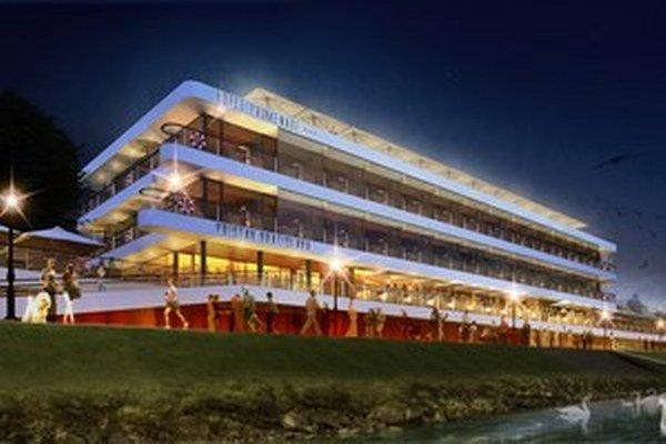 Nový prístav bude bránou do Viedne, nové budú terasy, hotel aj vyhliadka.
