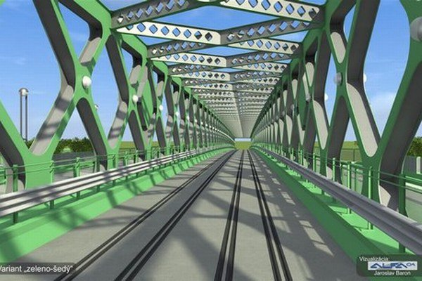 Obyvatelia Bratislavy chcú zeleno-sivý most.
