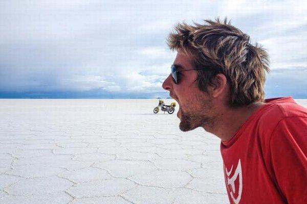 Marek Slobodník predstaví predchod Južnej Ameriky na motorke.