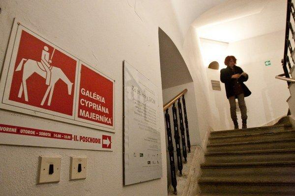 Galéria Cypriána Majerníka je zatvorená do odvolania.