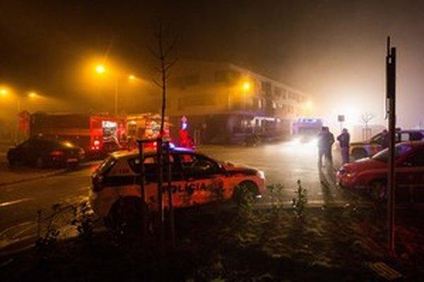 Januárový požiar v Rusovciach.