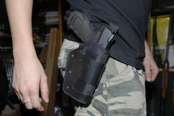 Lupič mal zbraň.