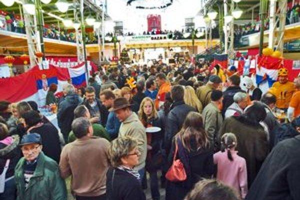 Vianočný bazár má v tržnici svoju tradíciu.