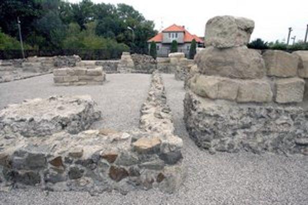 Antická Gerulata v Rusovciach.
