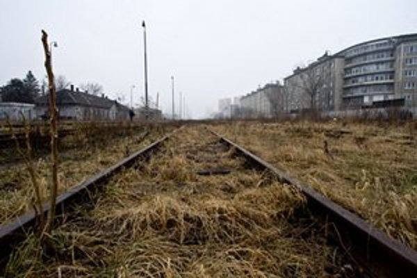 Trate v okolí železničnej stanice Filiálka.
