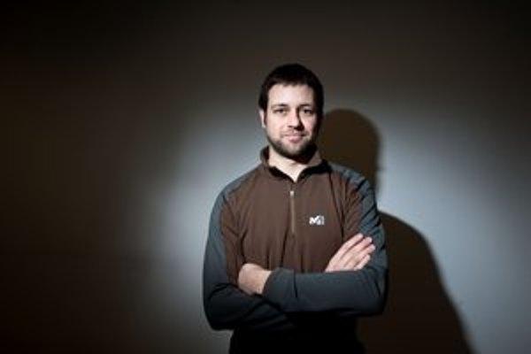 Martin Kleibl, fotograf a doktorand na VŠVU. Je autorom nového sprievodcu po Petržalke - Konduktor.
