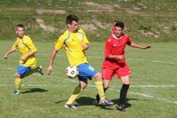 Fotografia zo zápasu Jastrabá - Ihráč.