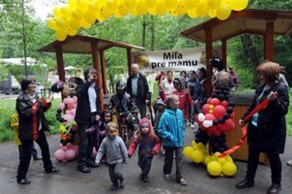 V Bratislave minulý rok počas podujatia pršalo, ani to však ľudí neodradilo od prejdenia Míle pre mamu.