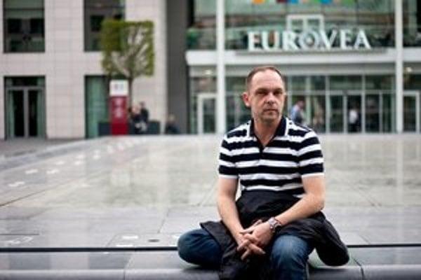 Architekt a urbanista Branislav Kaliský,  spolutvorca štvrte Eurovea. Kreslí už jej pokračovanie.