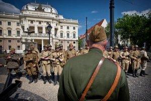 Pripomienka oslobodenia Bratislavy sa odohrala v centre mesta.