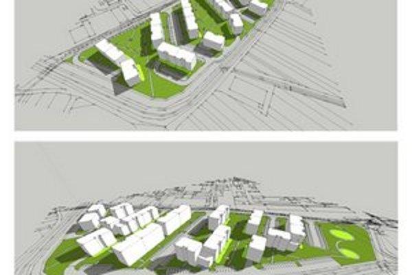 Proejekt navrhuje rezidenčnú zástavbu v Krasňanoch.