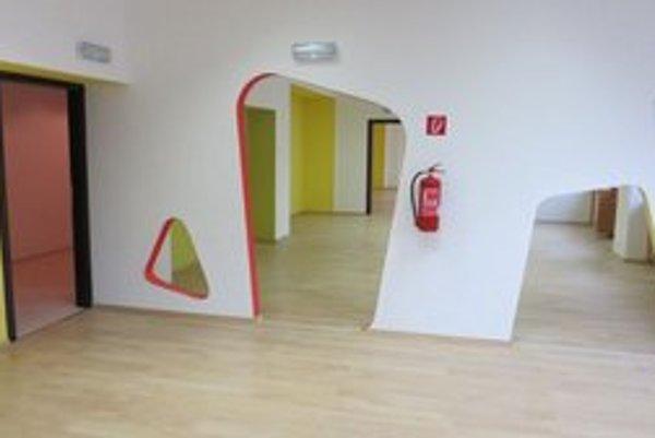 Nové priestory škôlky.