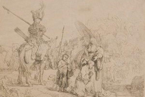Rembrandt Van Rijn - V orientálnom tábore.