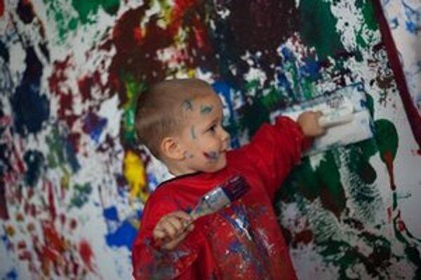 Deti sa tvorivo vyžijú.