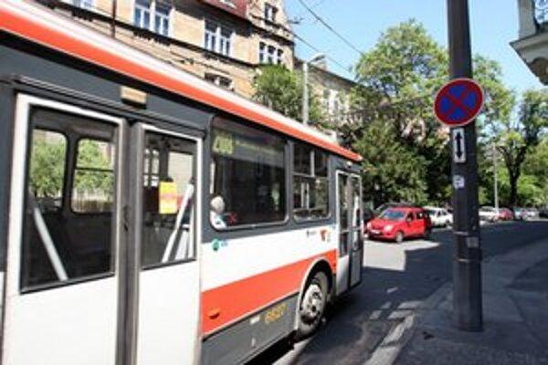Trolejbusy nebudú stáť na Zámockej.