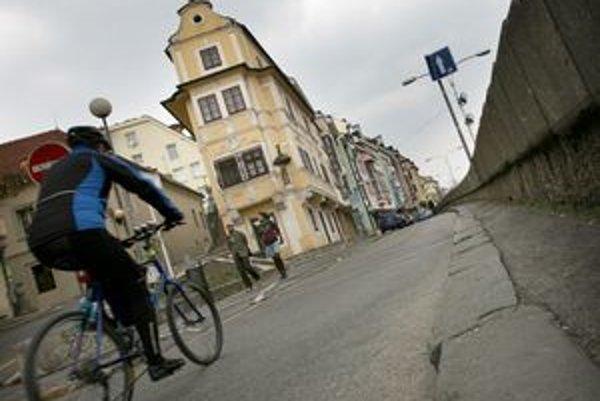 Cyklotrasa pribudne aj v centre mesta.