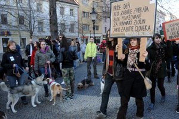 Organizátori odhadli, že prišlo asi 1500 ľudí.