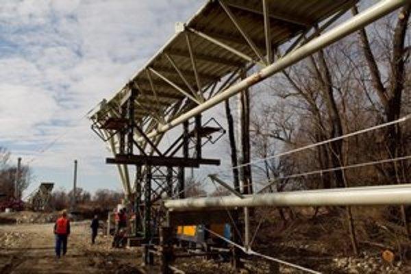 Konštrukcia má byť hotová v apríli.