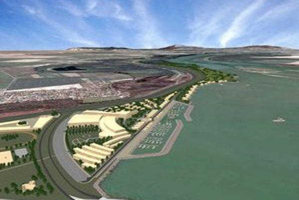 Nová štvrť bude mať vlastnú pláž, potraviny, kaderníctvo, ambulancie,  kultúrny dom, kvetinárstvo, poštu, kasíno i karaoke bar.