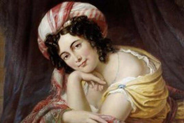 Maria Theresia, manželka kniežaťa Pavla III. Antona Esterházyho.