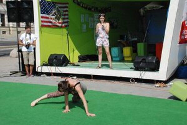 Katka predvádzala podstatu takzvaného nového tanca.