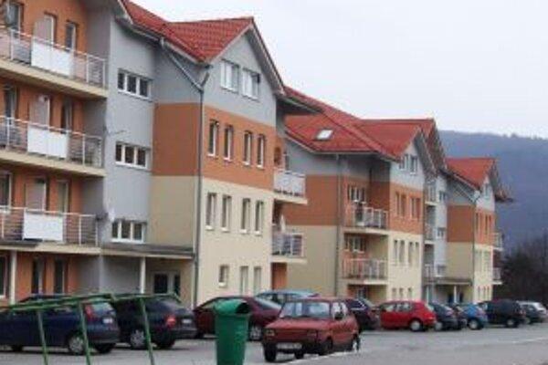 Nájomné byty. Ďalšie by v Žarnovici mali začať stavať ešte tento rok.
