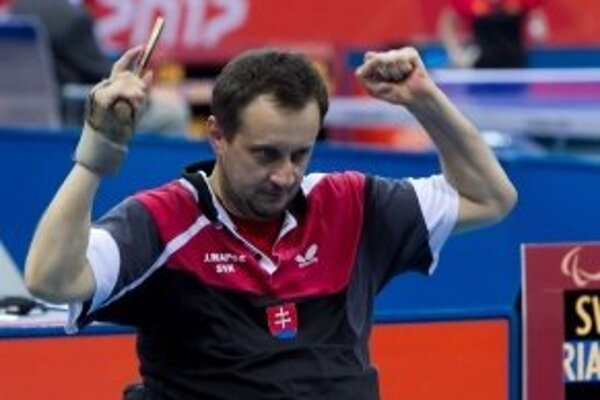 Ján Riapoš, trojnásobný paralympijský víťaz.