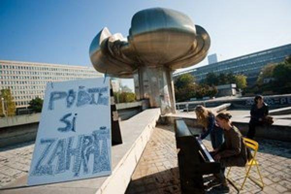 Na verejný priestor sa snažili upozorniť cez víkend aj organizátori akcie 72 hodín pre Gottko.