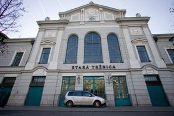 Starú tržnicu otvára mesto len príležitostne počas akcií.