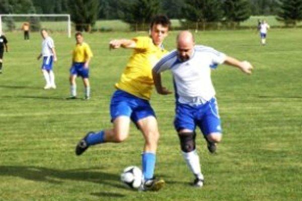 D. Trnávka - Župkov. Domáci dohrávali zápas deviati.