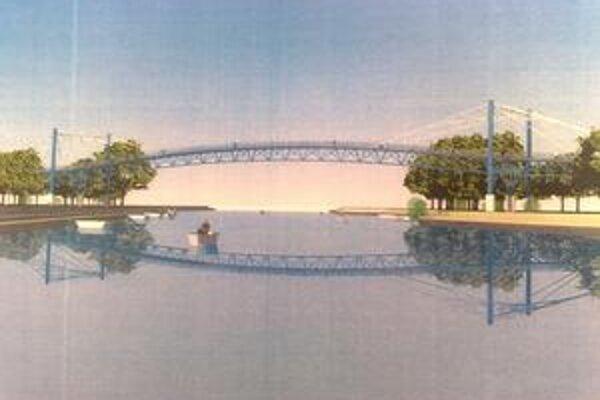 Cez most by mali jazdiť len cyklisti, bude hlavne pre peších. V prípade núdze bude aj pre záchranárov.