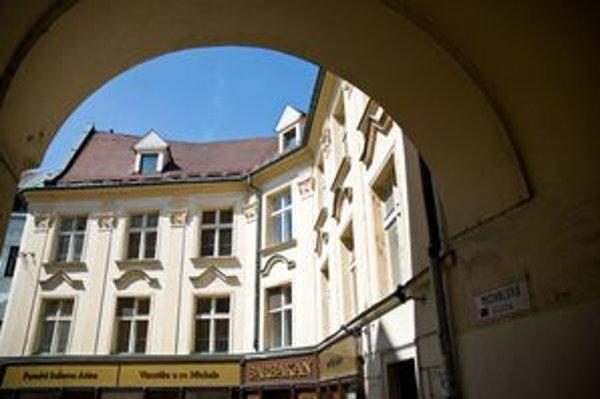 Barbakan na Michalskej ulici.