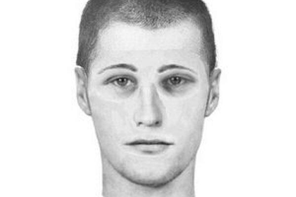 Mladý muž bol vyšportovaný, mal tmavohnedú mikinu s kapucňou a obuté vysoké čierne topánky.