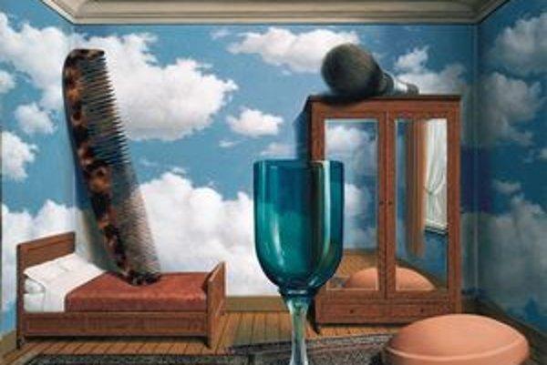 René Magritte: Osobné hodnoty /Les Valeurs personnelles, 1952 Museum of Modern Art, San Francisco.©Charly Herscovici Brusel-2011  VBK Wien, 2011