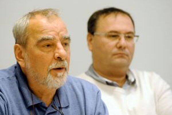 Marián Slovák a Peter Niňaj.