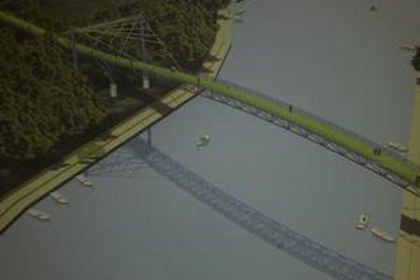 Cyklomost bude dlhý 955 metrov, mostná konštrukcia bude merať 525 metrov so šírkou štyri metre.