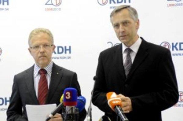 Andrej Ďurkovský a Ján Figeľ.