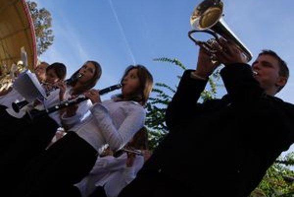 V Kremnici sa zišli hudobníci z regiónu.