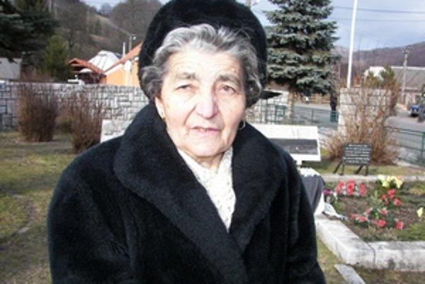 Anna Nováková. Fašistický masaker prežila ako desaťročné dievčatko.