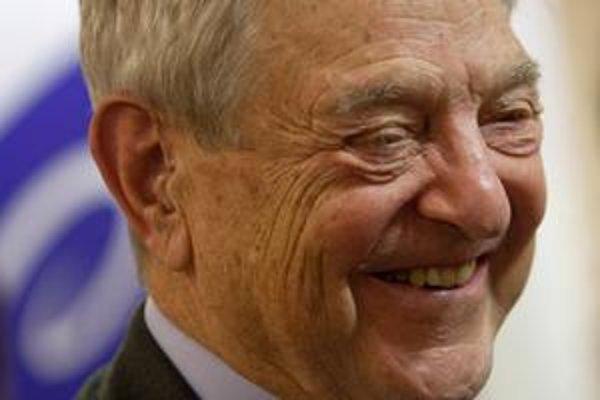 Americký finančník a filantrop George Soros.