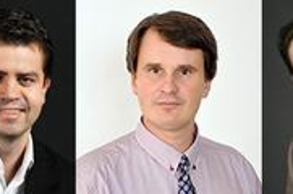 Traja najmladší starostovia - Peter Pilinský, Milan Jambor a Rudolf Kusý.