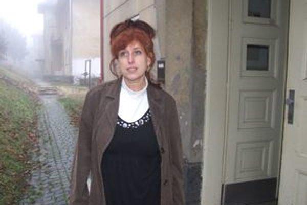 Ľubica Négerová. Predsedníčka bytového spoločenstva Pod lipami sa nemieni vzdať.