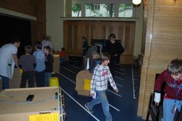 Laboratórium Detského múzea.