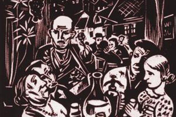 Imro Weiner-Kráľ: Pod viechou, 1937.